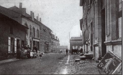 La rue du Commerce 1-debut-de-la-rue-du-commerce-1901